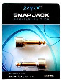 SnapJack Tips - wtyk Jack prosty, 2 szt.