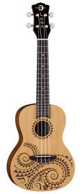 Luna Uke Tattoo SPR - ukulele koncertowe