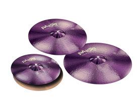 Paiste Zestaw talerzy Seria 900 Color Sound Purple