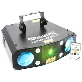 Double Moon z laserem i stroboskopem BeamZ Terminator III