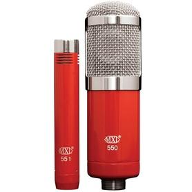 MXL 550/551R - Zestaw mikrofonów