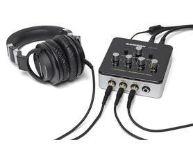 Samson  QH4 - 4-kanałowy wzmacniacz słuchawkowy