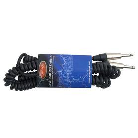 Stagg GCC-6 - spiralny kabel instrumentalny 6m