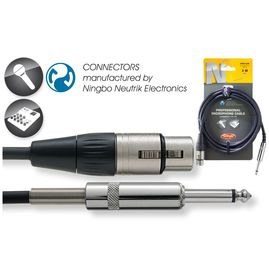 Stagg NMC 3 XP - kabel mikrofonowy 3m