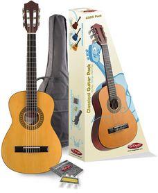 Stagg C 505 Pack - gitara klasyczna 1/4 z wyposażeniem