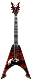 Dean Michael Amott Tyrant Bloodstorm - gitara elektryczna, sygnowana