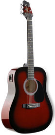 Stagg SW 201 RDS VT - gitara elektroakustyczna