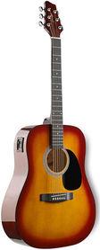 Stagg SW 201 CS VT - gitara elektro-akustyczna