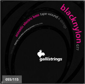 Galli G77 BlackNylon - struny do gitary basowej