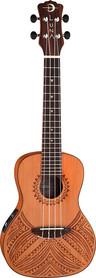 Luna Tapa Cedar Concert - elektryczne ukulele koncertowe
