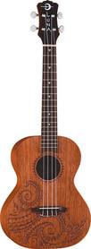 Luna Mahogany Tattoo Tenor - ukulele tenorowe