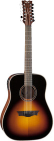 Dean Natural Series Dreadnought 12-String TSB - gitara elektroakustyczna