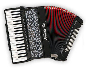 Fisitalia 37.45-TC - akordeon klawiszowy