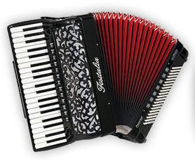 Fisitalia 41.45-TC - akordeon klawiszowy