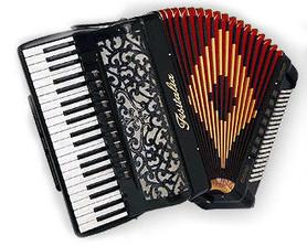 Fisitalia Littlestar - akordeon klawiszowy