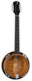 Luna 6 String Banjo - banjo 6cio strunowe