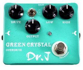 DR.J D50 Green Crystal Overdrive - efekt gitarowy