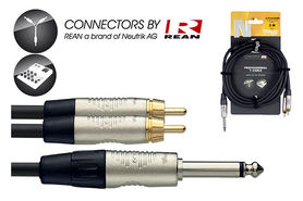 Stagg NYC3/P2CMR - kabel instrumentalny 3m