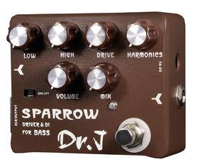Joyo D53 Sparrow - Driver&DI - efekt do gitary basowej
