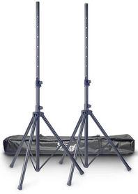 Stagg SPS10-AL BK SET - zestaw aluminiowych statywów kolumnowych