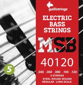 Galli MSB-40~120 S - struny do gitary basowej