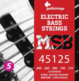 Galli MSB-45~125 S - struny do gitary basowej