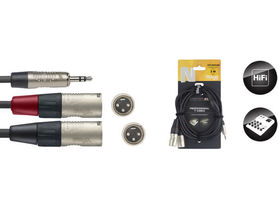 Stagg NYC3/MPS2XMR - kabel instrumentalny 3m