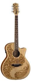 Luna Henna Paradise - gitara elektro-akustyczna