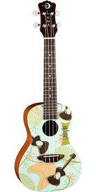 Luna Uke Daddy-O - ukulele koncertowe
