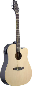 Stagg SA30DCE-N - gitara elektroakustyczna