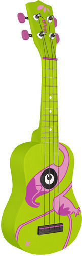 Stagg US-FLAMINGO - ukulele sopranowe