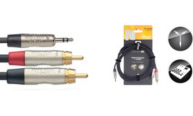 Stagg NYC1.5/MPS2CMR - kabel instrumentalny 1,5m