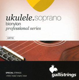 Galli UX710 - struny do ukulele sopranowego