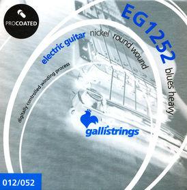 Galli EG1252 Blues Heavy - struny powlekane do gitary elektrycznej