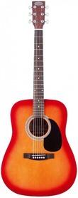 Stagg SW207 CS PACK - gitara akustyczna z wyposażeniem