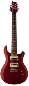 PRS 2017 SE Custom 24 7-String Black Cherry - gitara elektryczna
