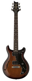 PRS S2 Mira Semi-Hollow McCarty Tobacco Sunburst Dots - gitara elektryczna USA