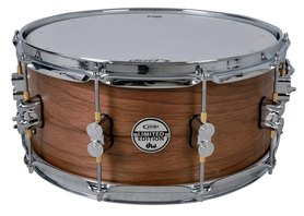 PDP by DW Snaredrum Ltd. Edition Maple/Walnut