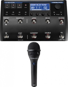 TC-Helicon VoiceLive 2 +mikrofon MP-75
