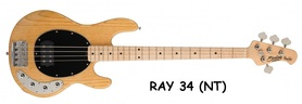 STERLING RAY 34 NT - gitara basowa
