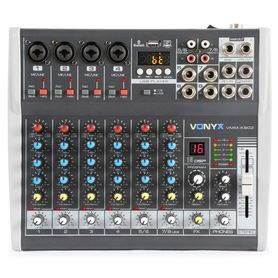 Mikser 8 kanałowy Vonyx VMM-K802 - DSP