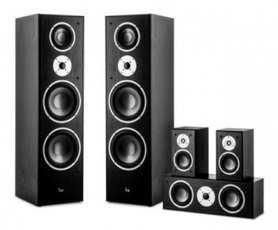 Zestaw głośnikowy VK 7820-5 BLACK