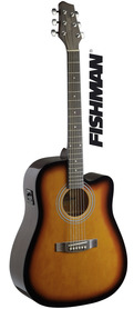 Stagg SA40 DCFI-BS  - gitara elektroakustyczna