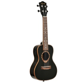 UKULELE KONCERTOWE EVER PLAY LA3-24BK EQ