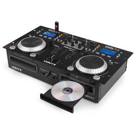 Podwójny odtwarzacz CD/MP3/USB/Bluetooth Vonyx CDJ500