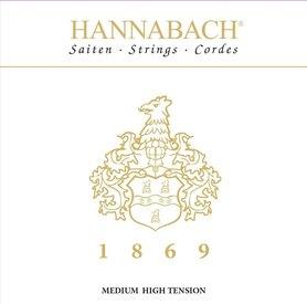 HANNABACH STRUNY DO GITARY KLASYCZNEJ SERIA 1869 CARBON/GOLD MHT