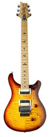 PRS SE Custom 24 Floyd Roasted Maple Tobacco Sunburst Quilt LTD - gitara elektryczna