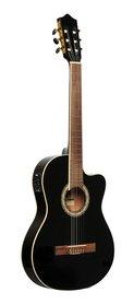 Stagg SCL60 TCE-BK - gitara elektro-klasyczna