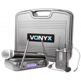 Bezprzewodowy zestaw mikrofonowy Vonyx WM73C