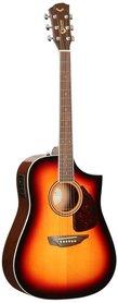 Samick SGW S-350D/3TS - gitara elektro-akustyczna